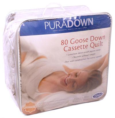 Goose Down Cassette Quilt